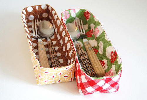 Organizer Basket Tutorial from Pink Penguin