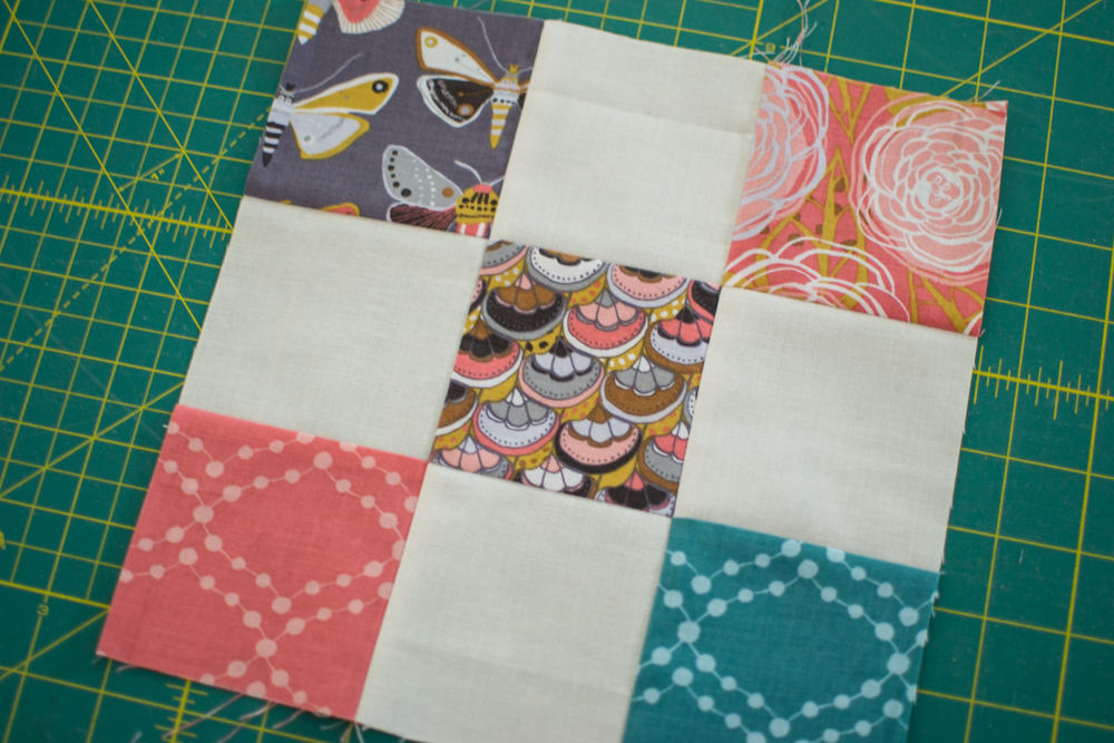 Quick Quilting Tip Nesting Seams Sewcanshe Free Sewing Patterns