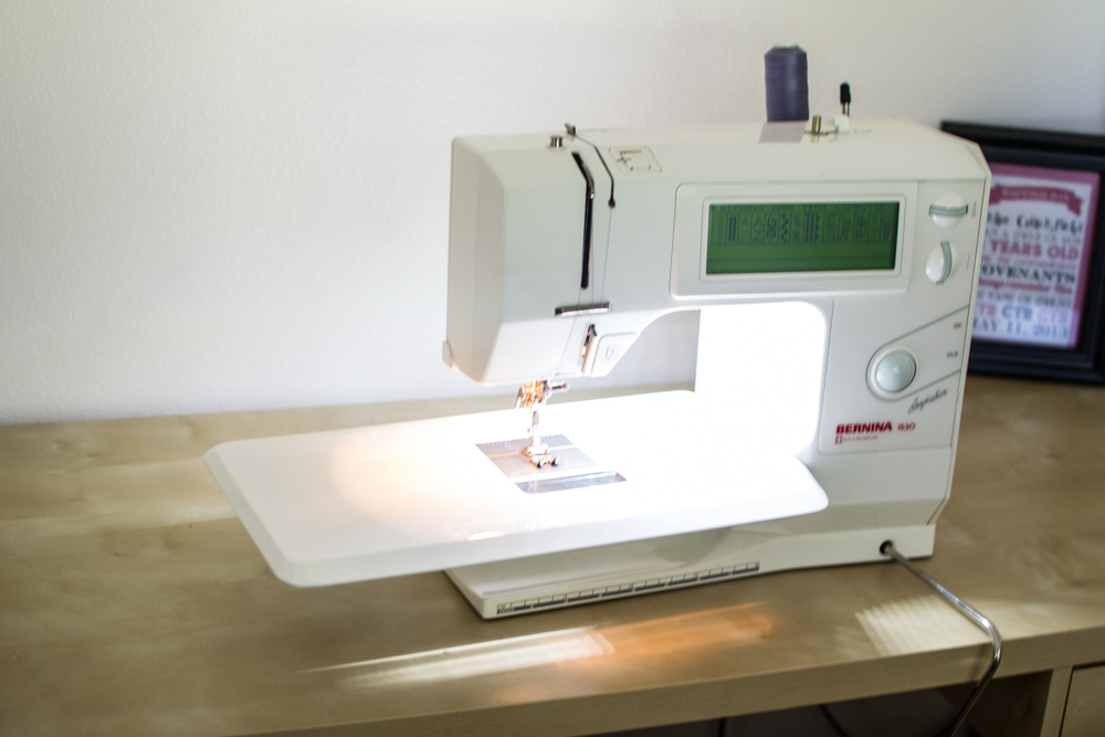 sewing machine lighting