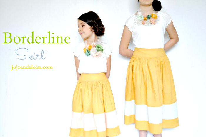 Borderline Skirt from Jojo and Eloise