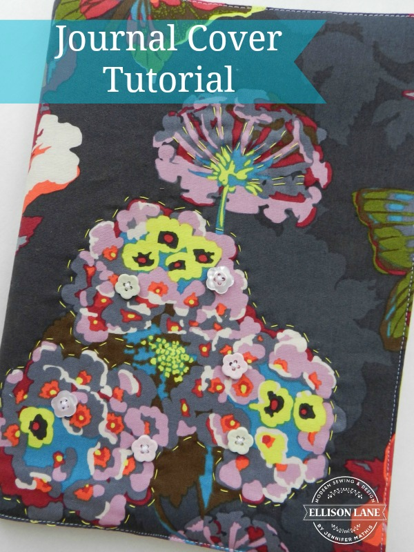 Journal Cover Tutorial from Ellison Lane