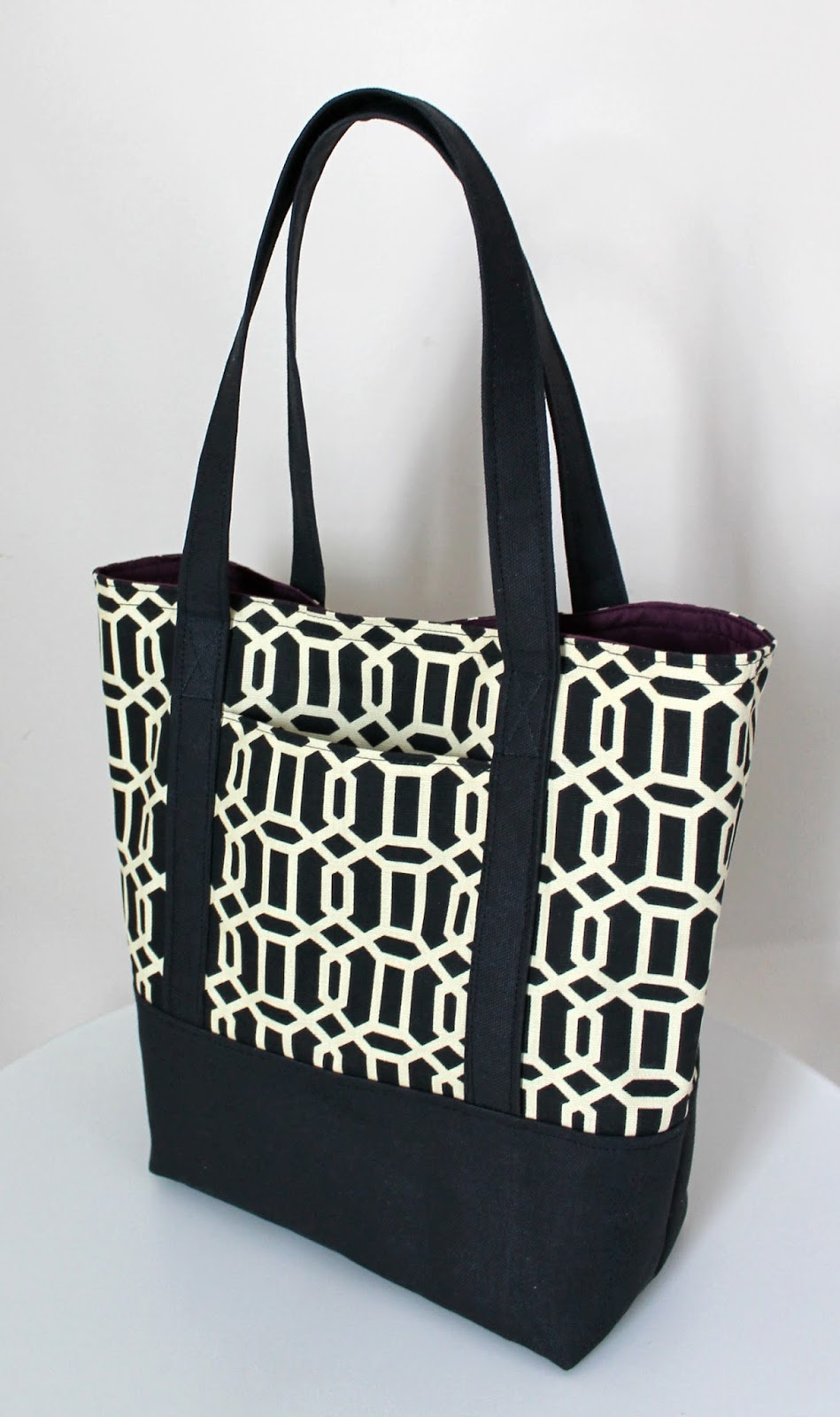 Lined Canvas Tote from The Inspired Wren