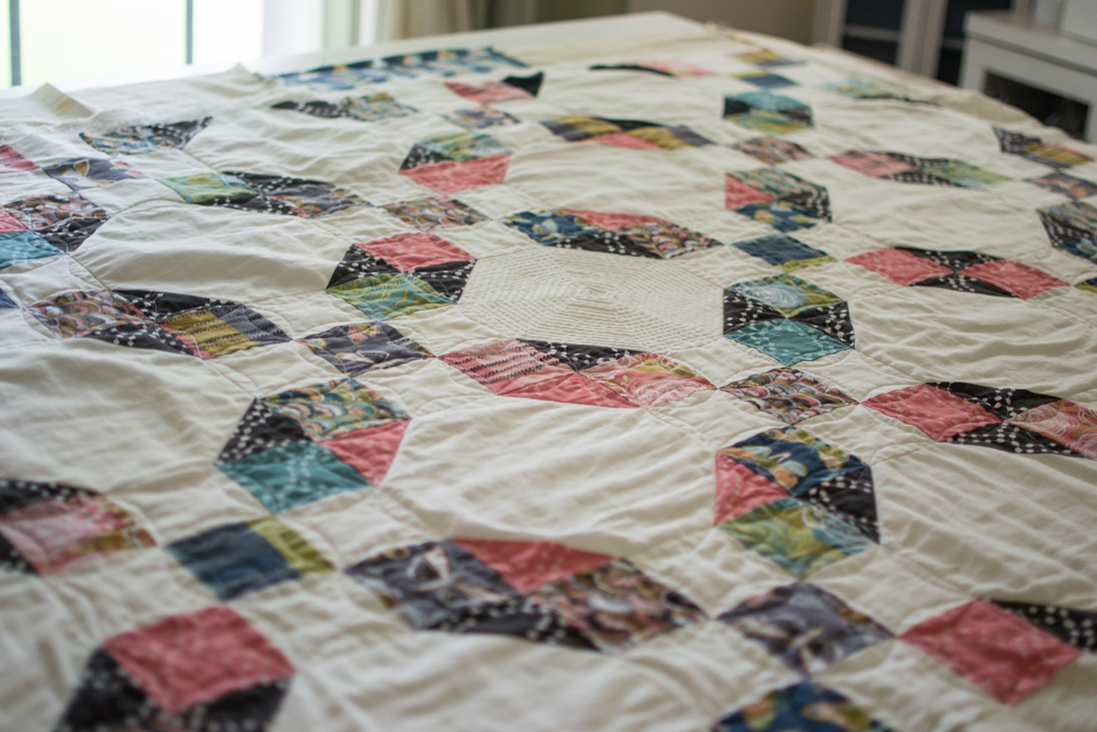 This quilt is not quite done. :)