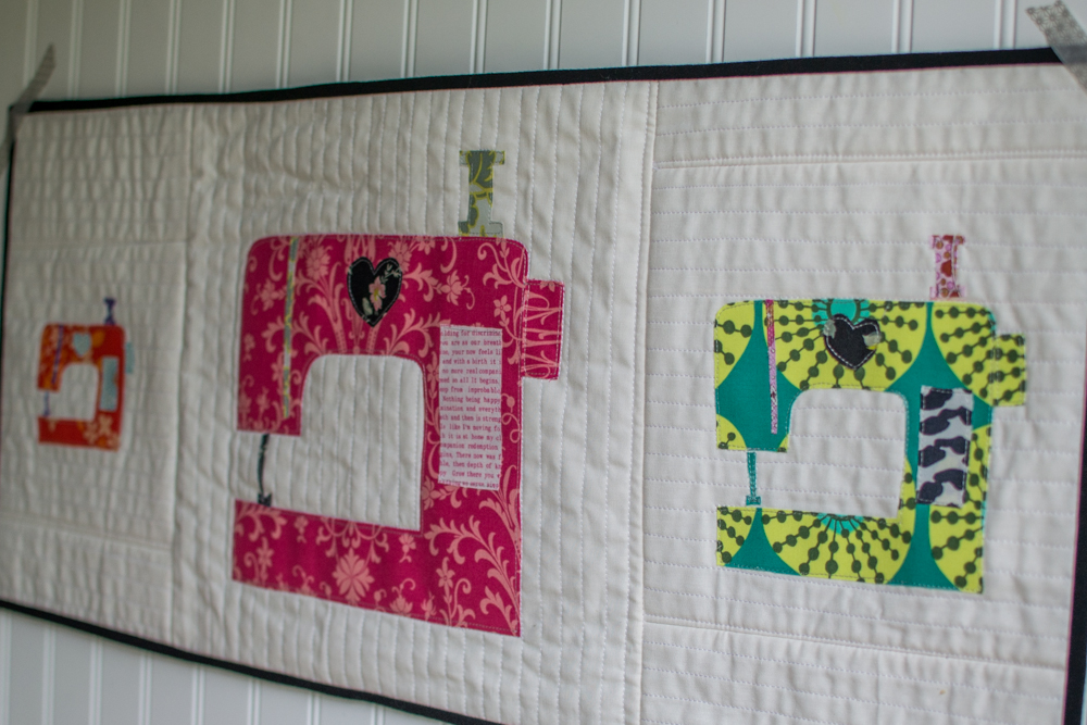 Applique of the Month Club: Sewing Machine Art Study — SewCanShe ...