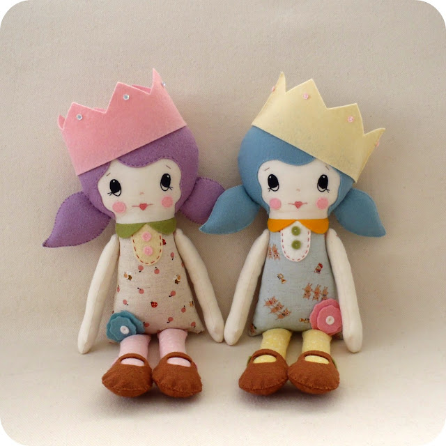 Doll Pattern Download from Gingermelon