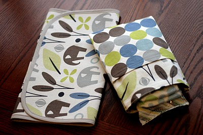 Diaper Pouch & Changing Pad from Craft buds