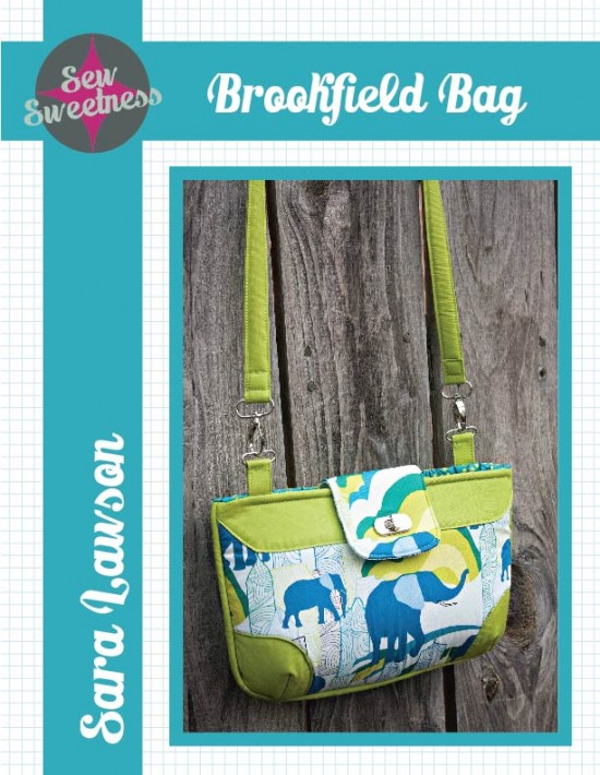 BROOKFIELD BAG SEWING PATTERN from Sew Sweetness