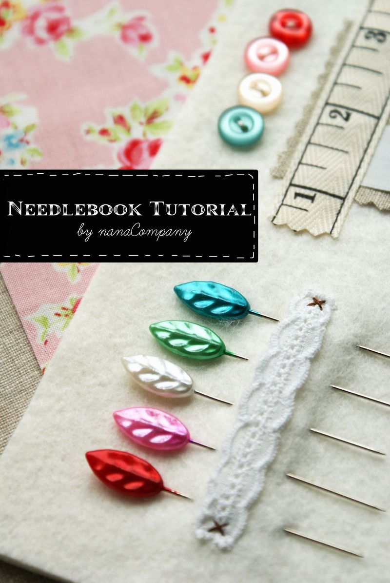 needlebook tutorial by nanaCompany