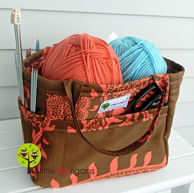 organizing tote basket tutorial from 2 little hooligans