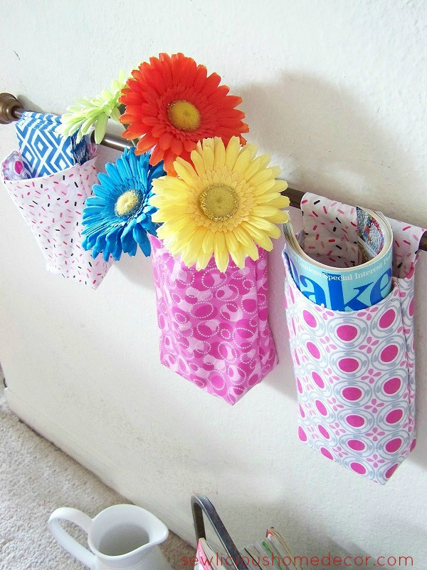 Hanging Wall Organizer from Sewlicious Home Decor