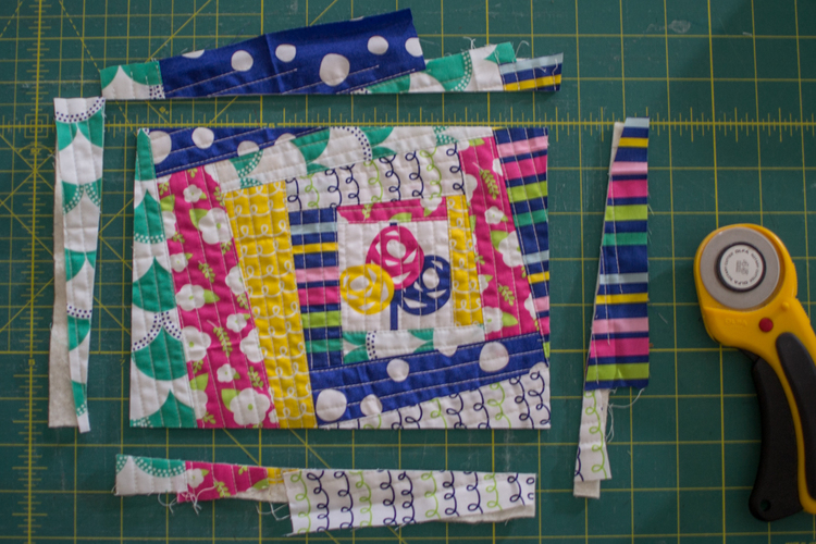 How to make QAYG fabric - for totally cute projects! — SewCanShe ... : quilt as you sew - Adamdwight.com