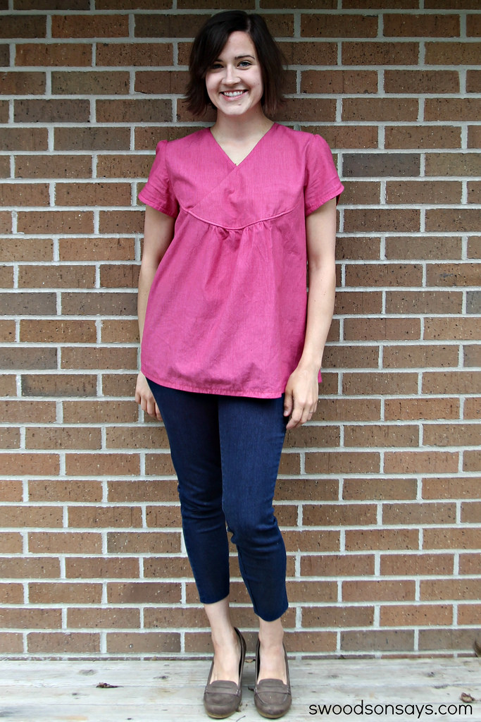 Friday Spotlight: Swoodson\'s adorable top! — SewCanShe | Free Sewing ...