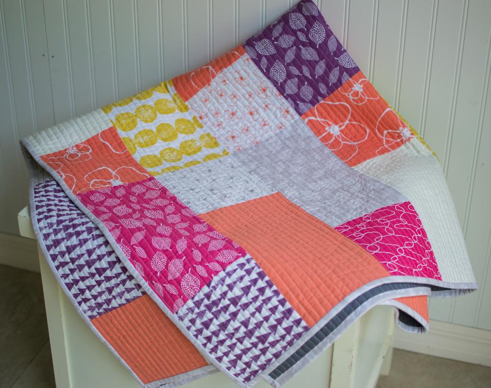 New Free Fat Quarter Fizz Quilt Pattern From Fat Quarter
