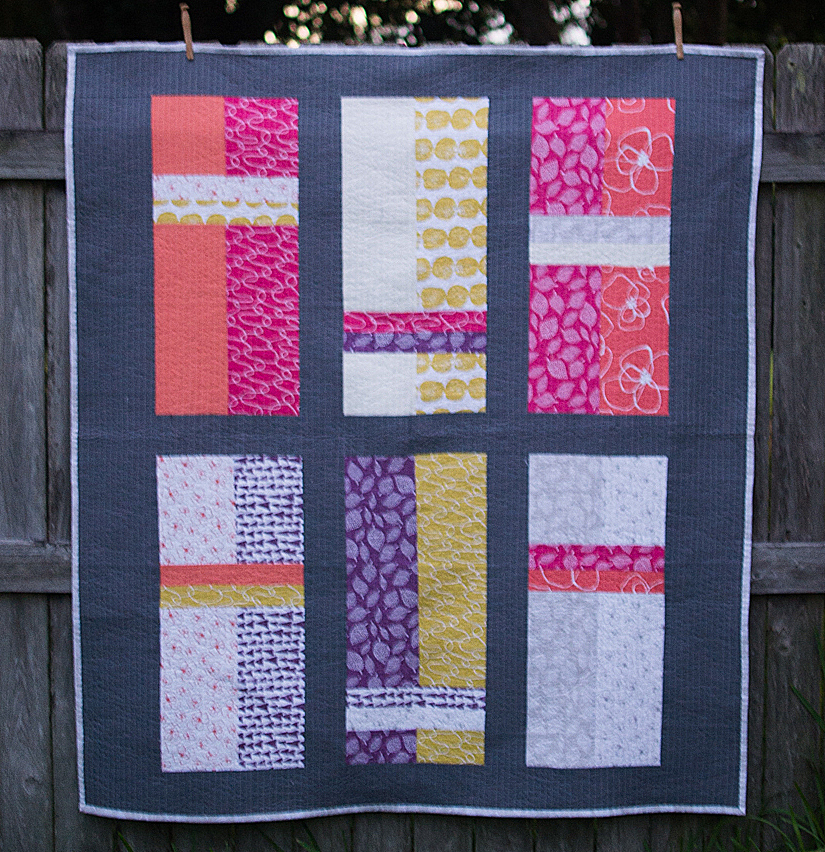 New Free Fat Quarter Fizz Quilt Pattern from Fat Quarter Shop! SewCanShe Free Daily Sewing ...