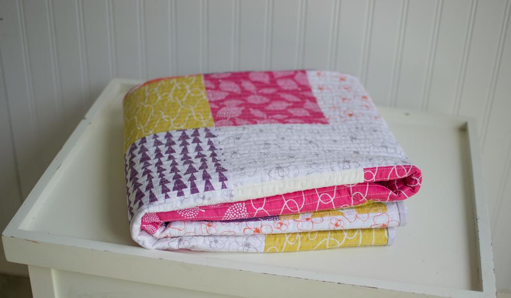 New Free Fat Quarter Fizz Quilt Pattern From Fat Quarter Shop