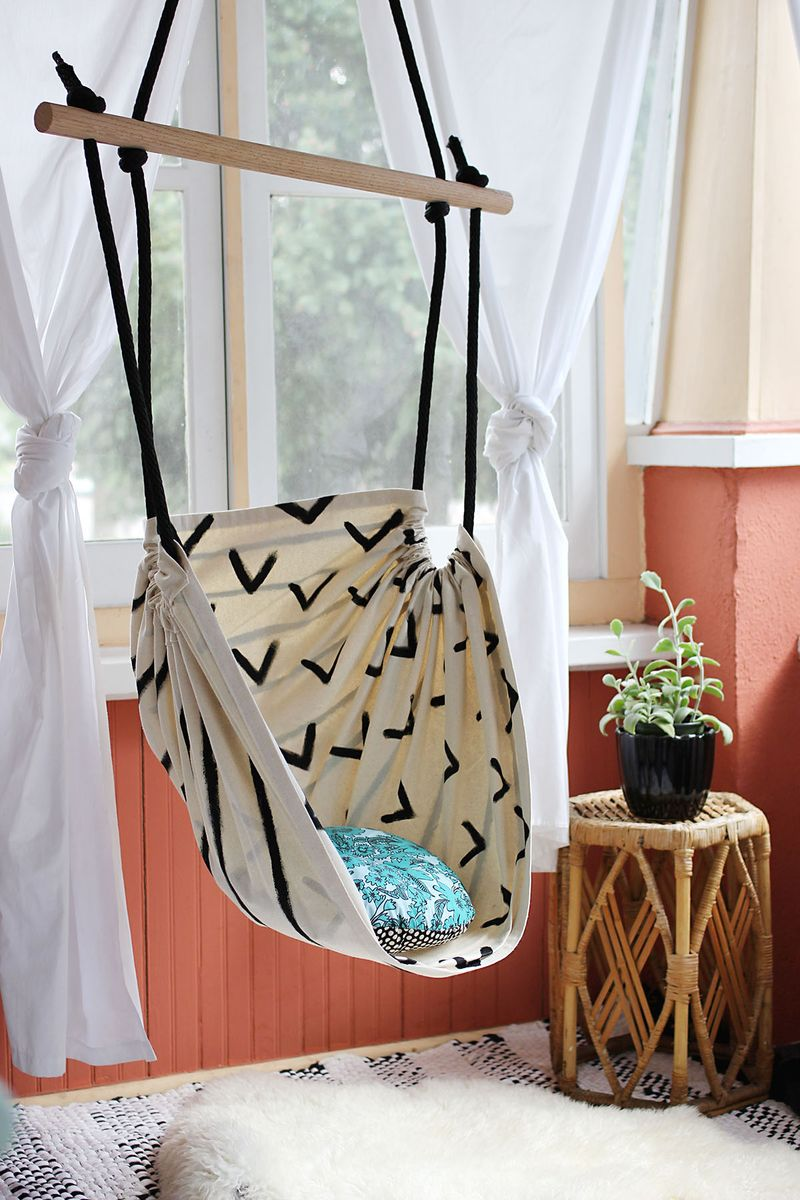 DIY Hammock Chair from A Beautiful Mess