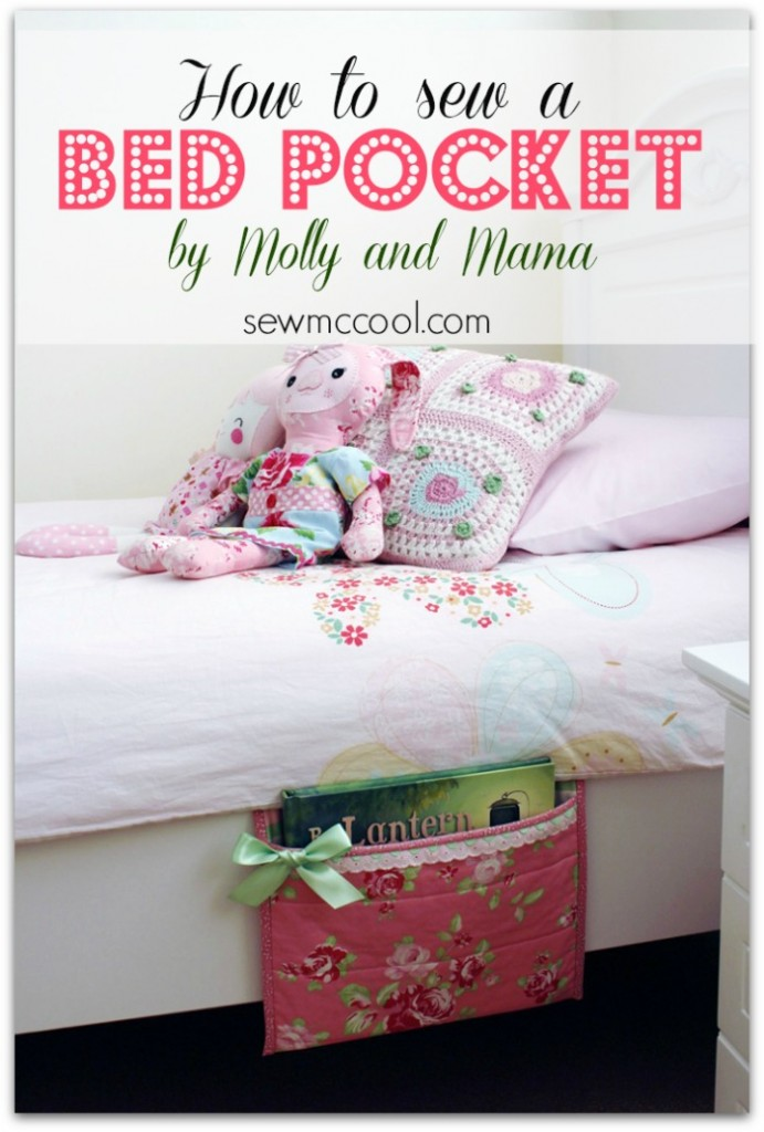 Kids Bed Pocket from Sew McCool