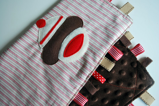 Sock Monkey Snuggle Square Tutorial from Just Another Day In Paradise
