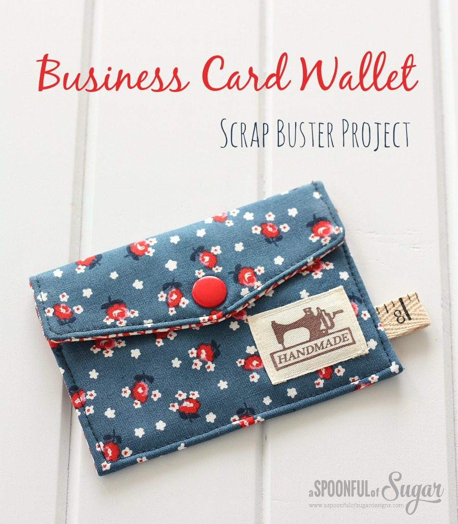 Business Card Wallet from Spoon Full Of Sugar