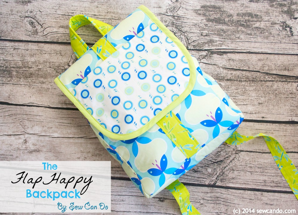 FlapHappy Backpack Tutorial from Sew Can Do