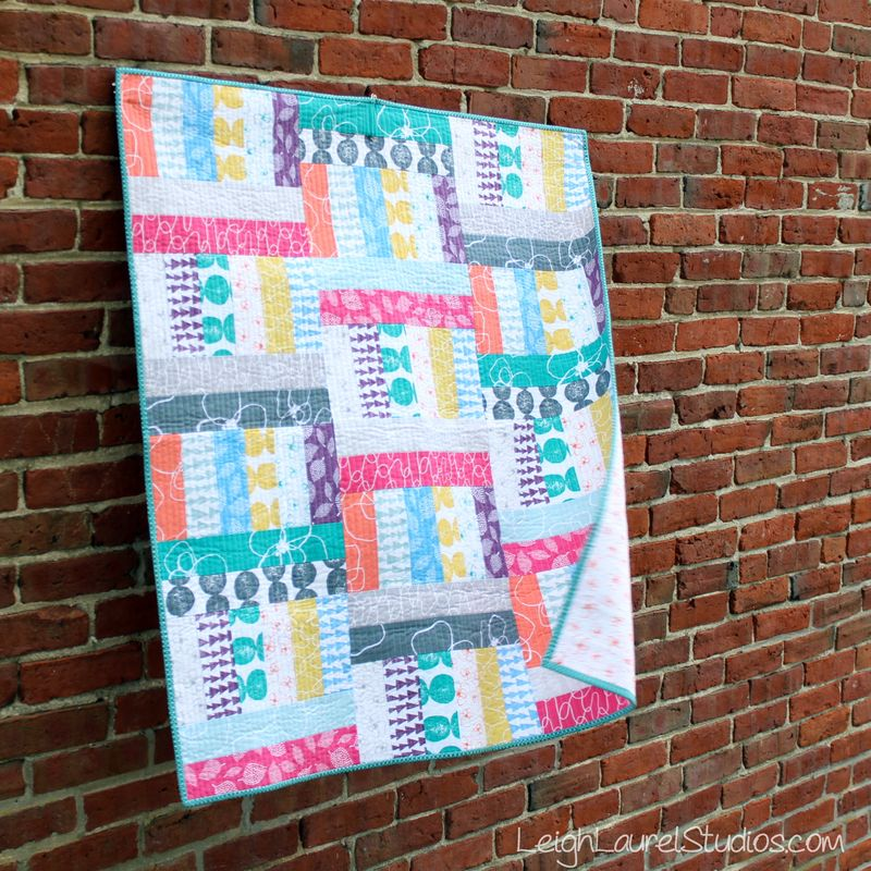 Friday Spotlight Karin S Jelly Roll Baby Quilt X S Two