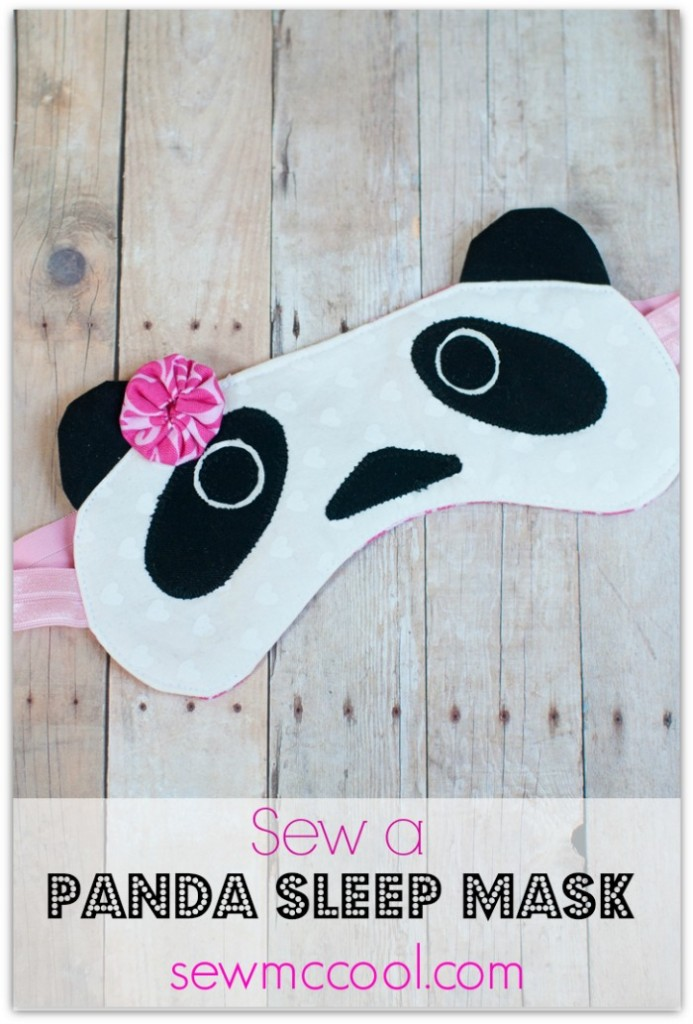 PANDA SLEEP MASK from Sew McCool
