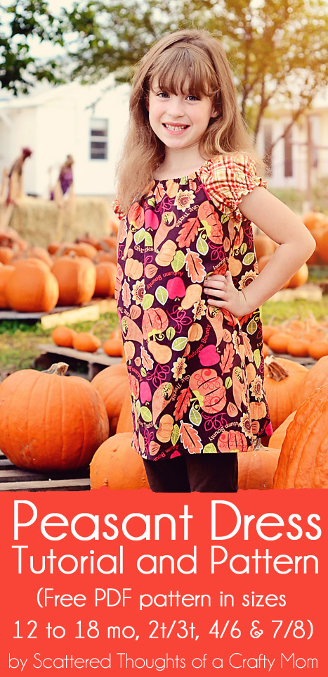Peasant Dress Tutorial w/ Free Pattern Scattered Thoughts Of A Crafty Mom