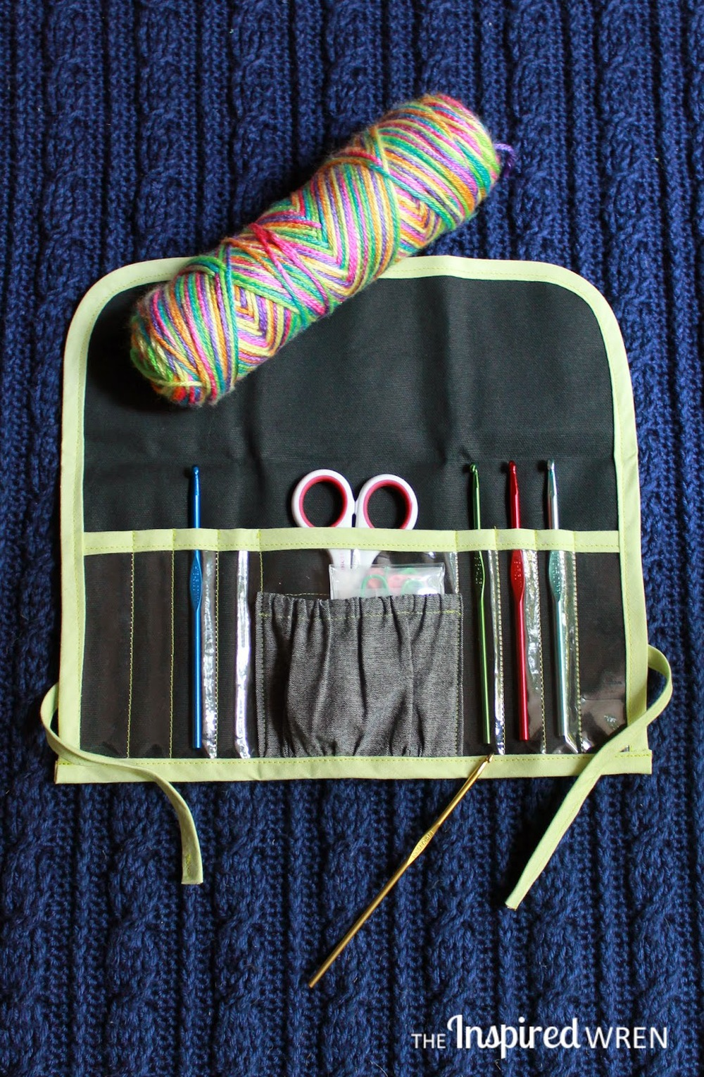 Clear View Crochet Hook Case  from The Inspired Wren