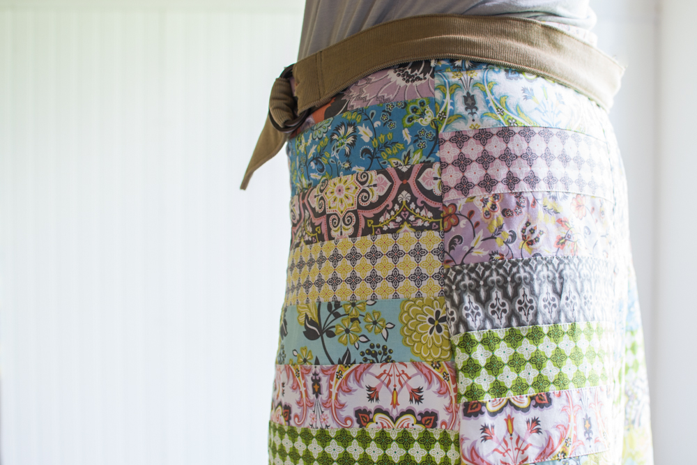 Diy Patchwork Skirt Sewcanshe Free Sewing Patterns For Beginners