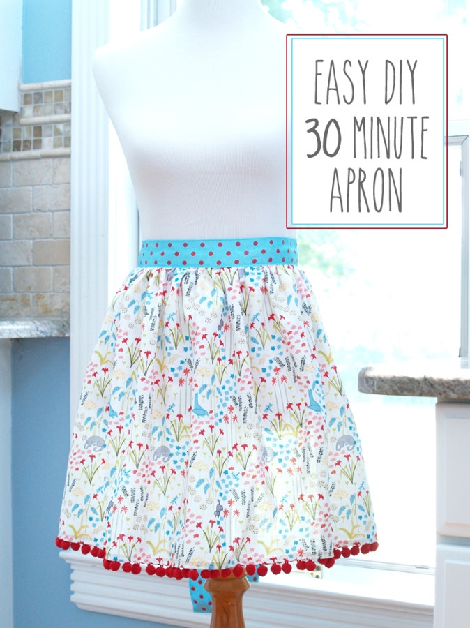 30 minute apron pattern
