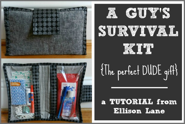 The Guy's Survival Kit from Ellison Lane