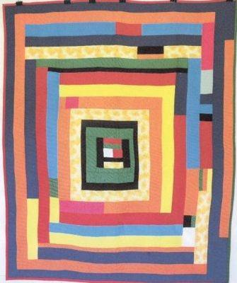 Quilt by Mary Ann Pettway of Gee's Bend.