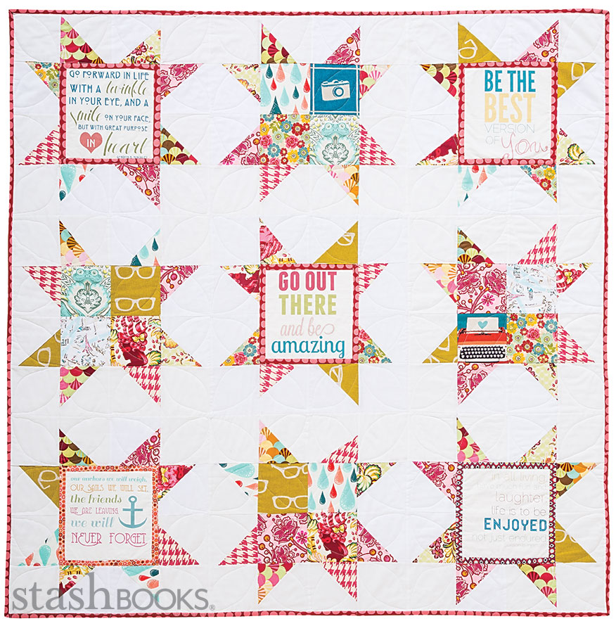 I totally want to make this quilt.