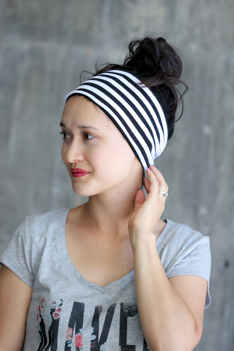 DIY Headwrap from Delia Creates
