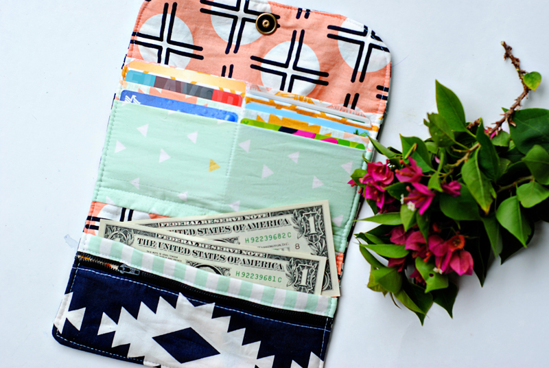 Arizona Wallet from Sew Mama Sew