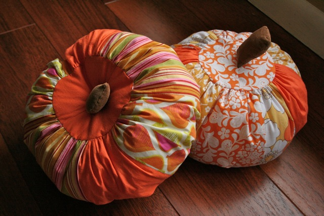 Scrappy Pumpkin Tutorial from Gingercake