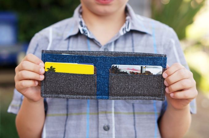 Boy's Wallet Tutorial from Calia Made