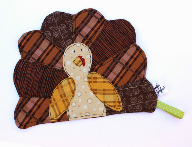 Thanksgiving Turkey Pot Holder from Jennifer Jangles