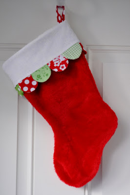 Dollar Store Christmas Stocking Makeover from Pleasant Home