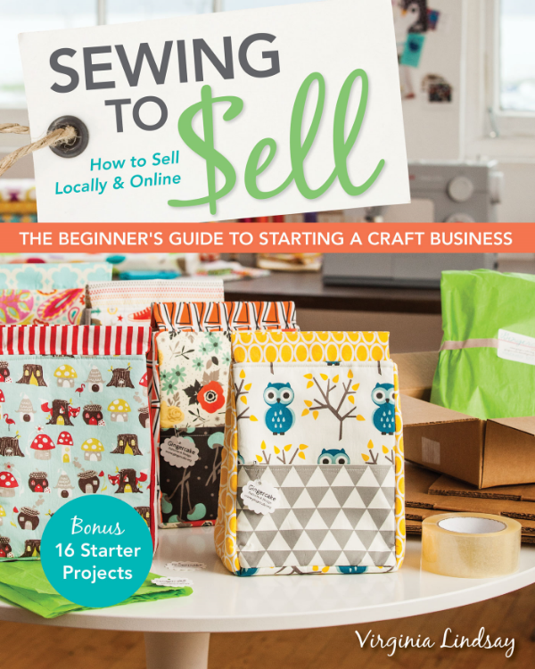 Book Review & Giveaway: Sewing To Sell by Virginia Lindsay ...