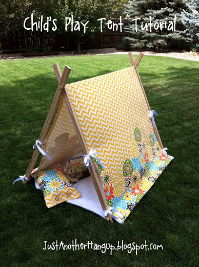 Child's Play Tent Tutorial from Just Another Hangup