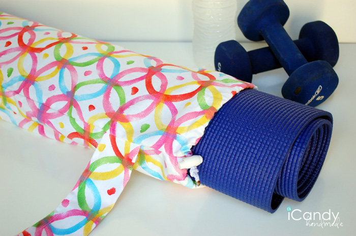 Yoga Mat Sling from iCandy handmade