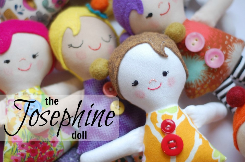 FREE PATTERN: THE JOSEPHINE DOLL from While She Naps