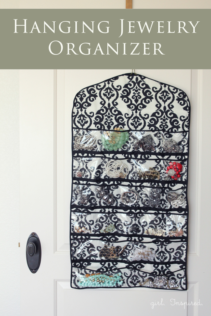 HANGING JEWELRY ORGANIZER from girl Inspired