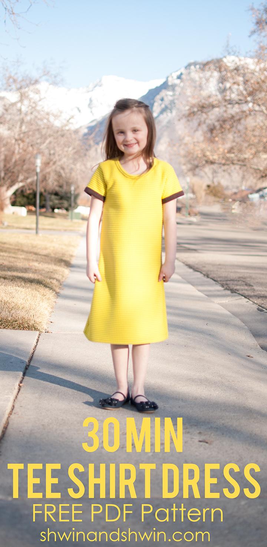 30 Min Tee Shirt Dress from Schwin & Schwin