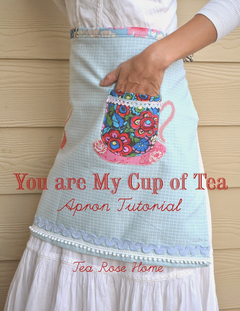 APRON TUTORIAL – YOU ARE MY CUP OF TEA from U Create