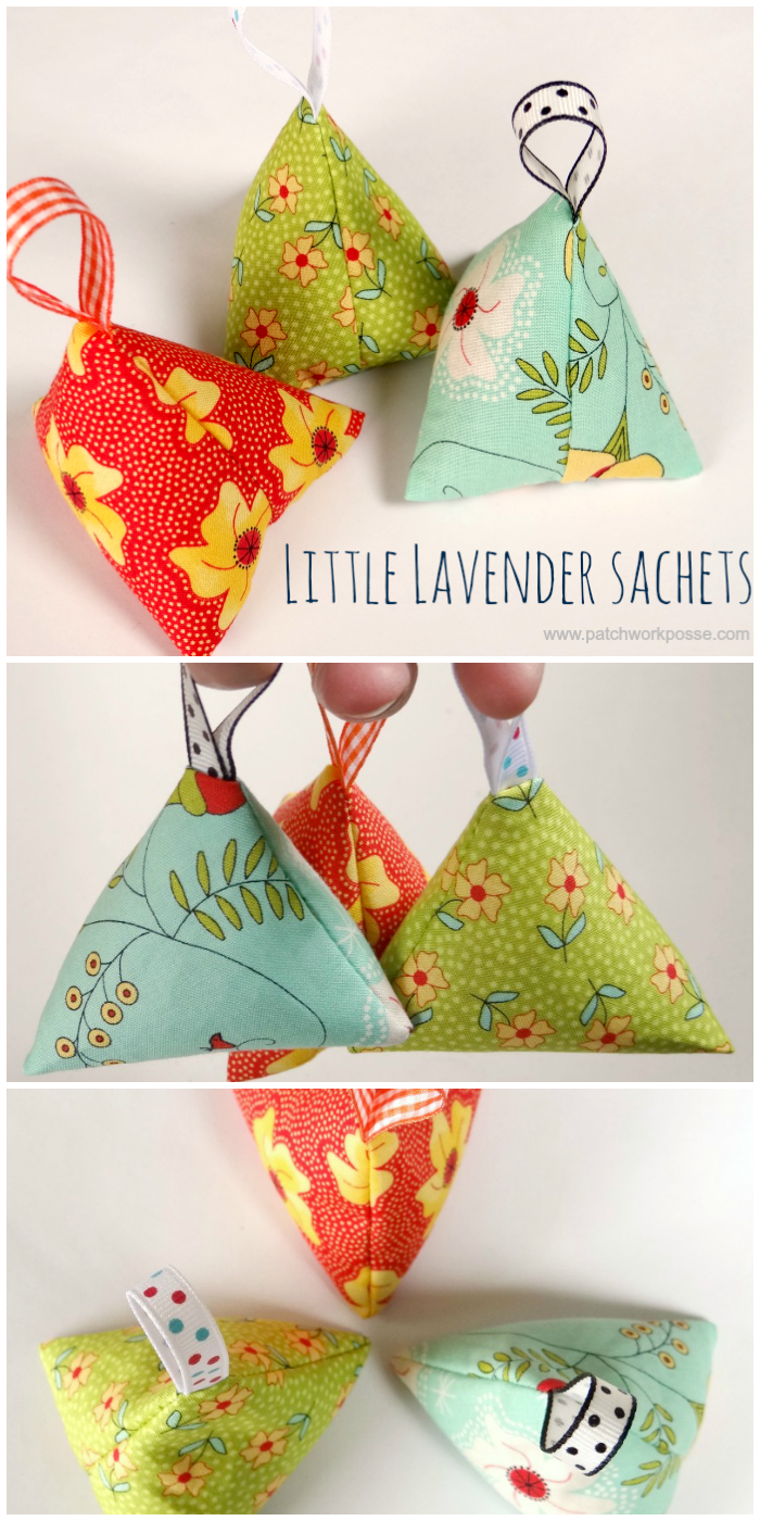 Little Lavender Sachet from Patchwork Posse