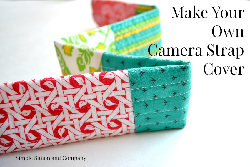 DIY Camera Strap Cover from Lolly & Jane