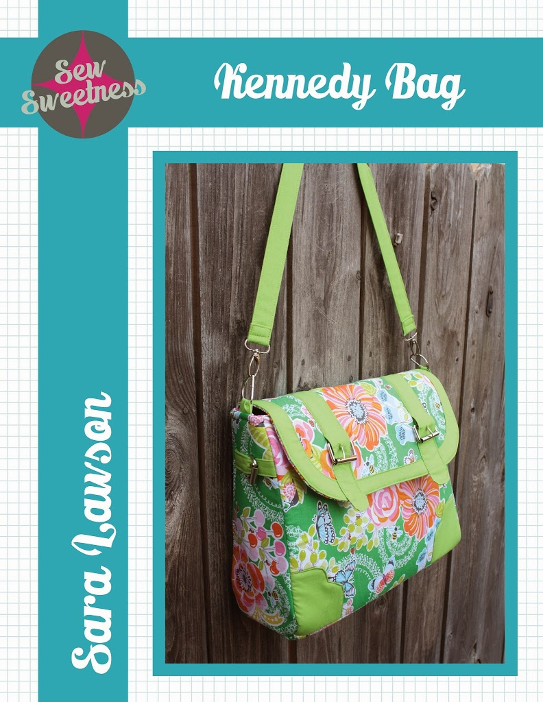 FREE BAG PATTERN – THE KENNEDY BAG from Sew Sweetness