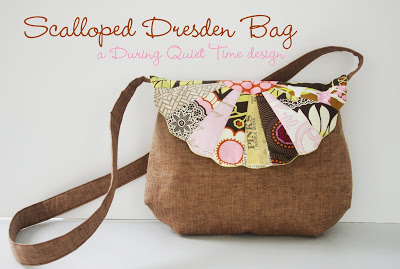 Scalloped Dresden Bag from During Quiet Time